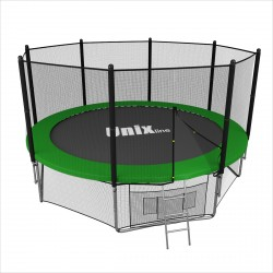 Батут UNIX line 12 ft outside ( Green )